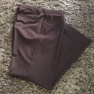 DARK BROWN TROUSER PANTS - SIZE 10P